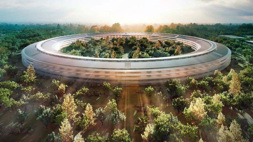 Photo of Nowe zdjęcia z budowy siedziby Apple