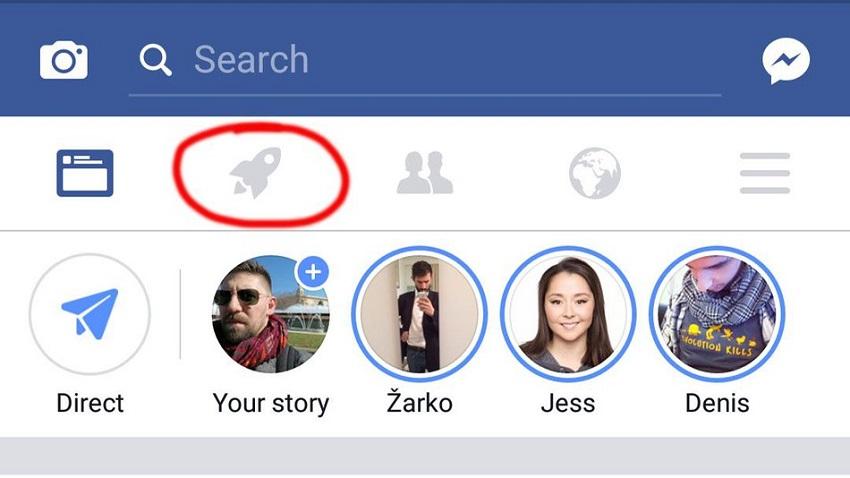 Photo of W aplikacji Facebooka pojawiła się tajemnicza ikona rakiety