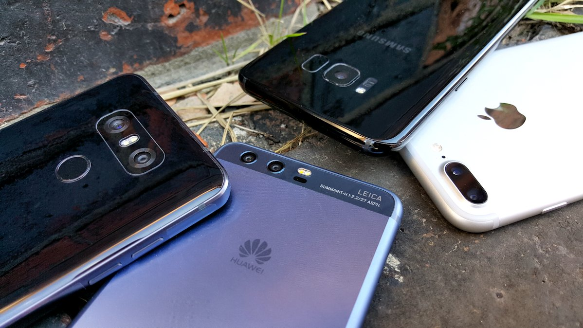 Fototest: Fantastic Four (Galaxy S8+, Huawei P10, LG G6, iPhone 7 Plus)