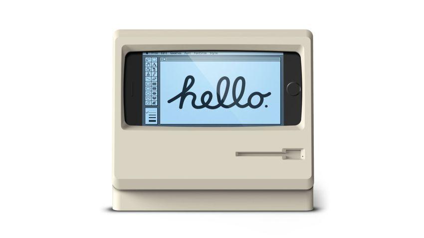 Photo of Zamień swój iPhone w komputer z lat '80