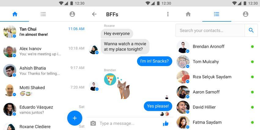 messengerlitescreen Messenger Lite dostępny w Polsce