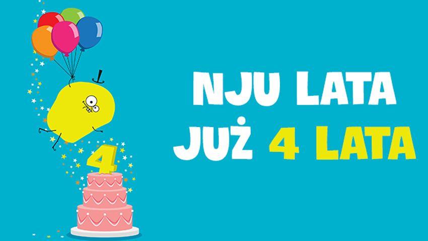 Photo of Czwarte urodziny nju mobile
