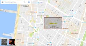 pacman-300x161 Prima Aprilis w Google Maps. Ulice miast planszą do Pac-Mana
