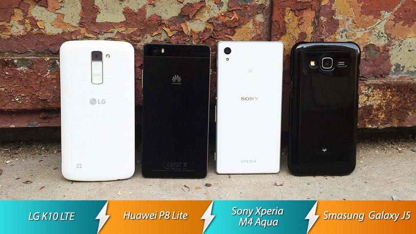 Photo of Starcie: Huawei P8 Lite vs LG K10 vs Samsung Galaxy J5 vs Sony M4 Aqua