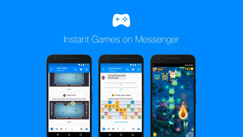 Photo of Messenger jako platforma do gier?