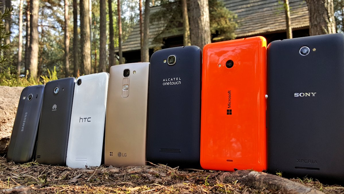 Fototest: Budżetowe telefony (Pop C7, Desire 320, Ascend Y550, Spirit 4G LTE. Lumia 535, Galaxy Ace 4, Xperia E4)