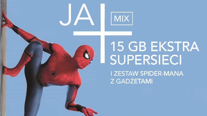 Photo of Plus: Dodatkowe gigabajty i Spider-Man w Mixie