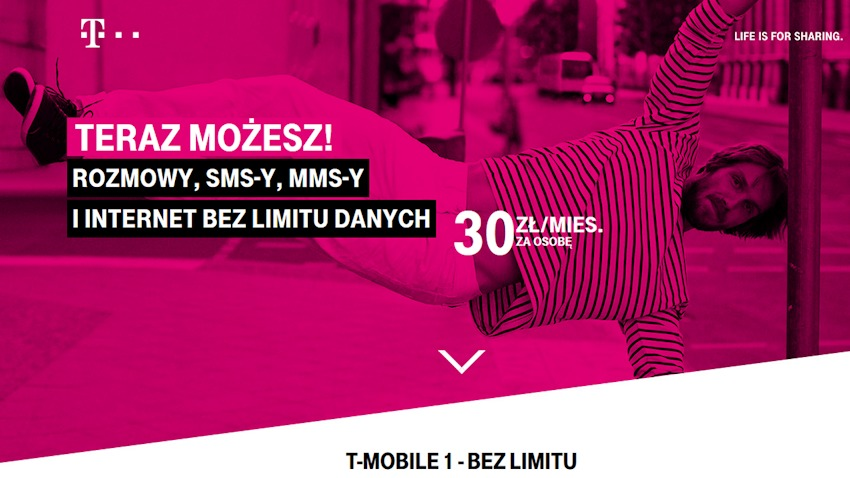 Photo of Bez ograniczeń w T-Mobile