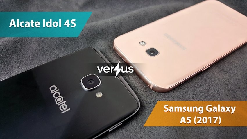 Alcatel Idol 4S vs Samsung Galaxy A5 (2017)