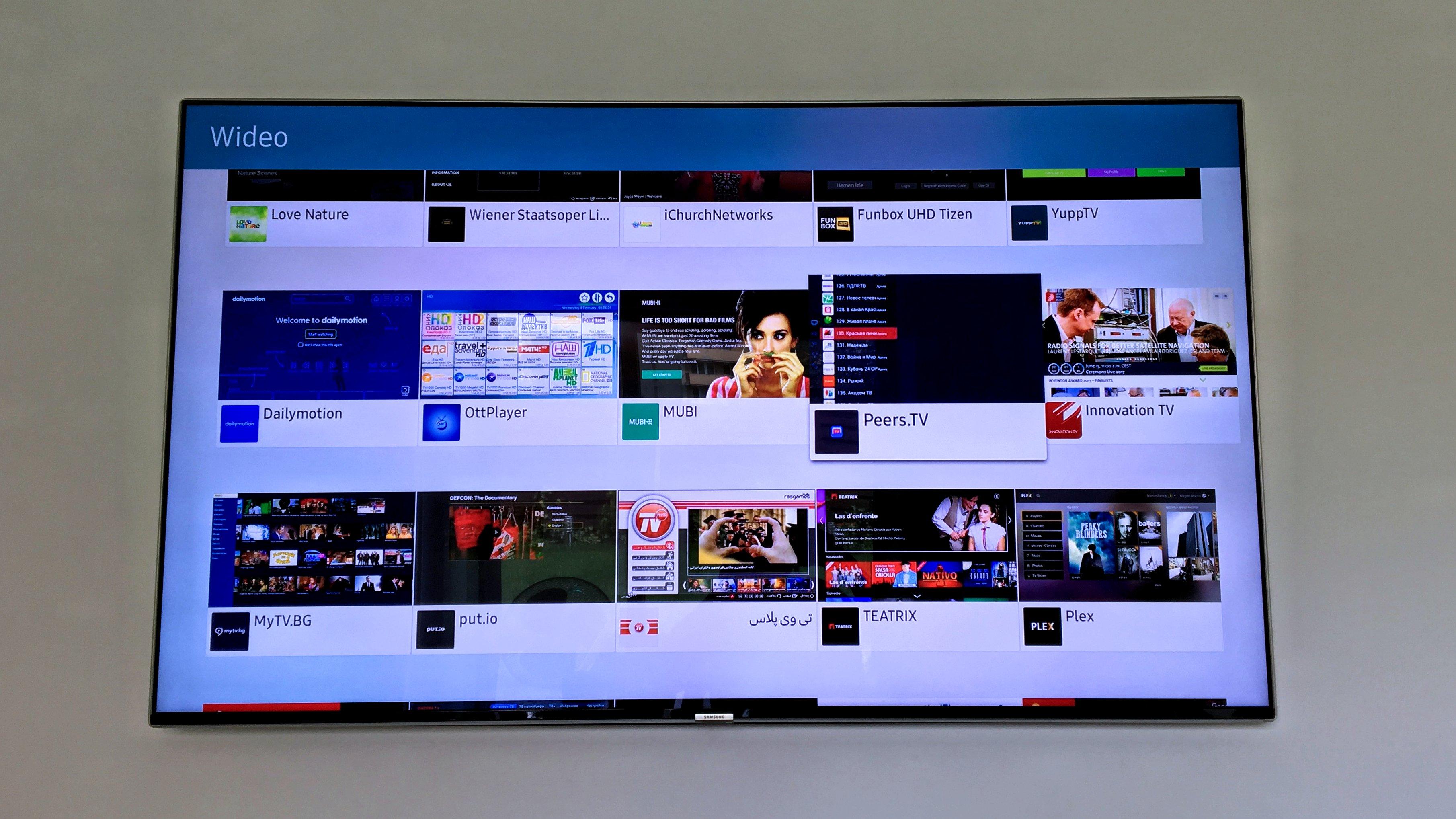 IMG_3218 Samsung Smart TV - bogactwo multimediów