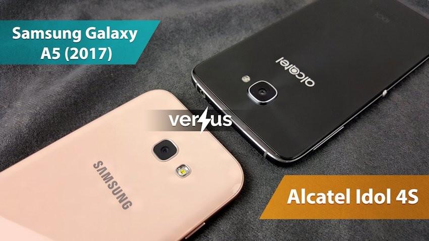 Samsung Galaxy A5 (2017) vs Alcatel Idol 4S