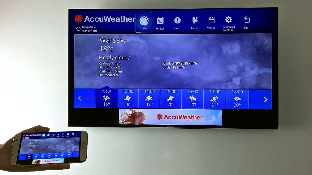 samsung-tv-smartfon-1-850x478 Telewizor w smartfonie / smartfon w telewizorze