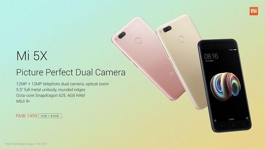 Photo of Xiaomi Mi 5x oficjalnie zaprezentowany