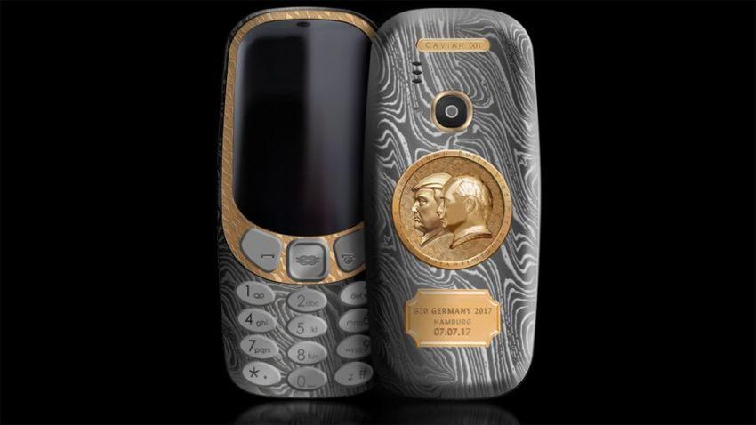 Photo of Limitowana edycja Nokii 3310 – coś dla sympatyków Putina, Trumpa i brzydkich telefonów