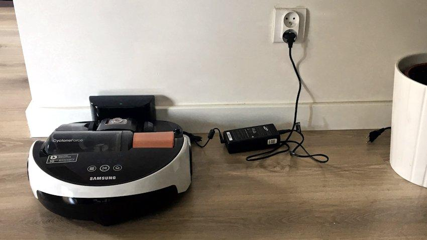 recenzja-powerbot-samsung-sesja-8 Recenzja odkurzacza Samsung Powerbot VR9000