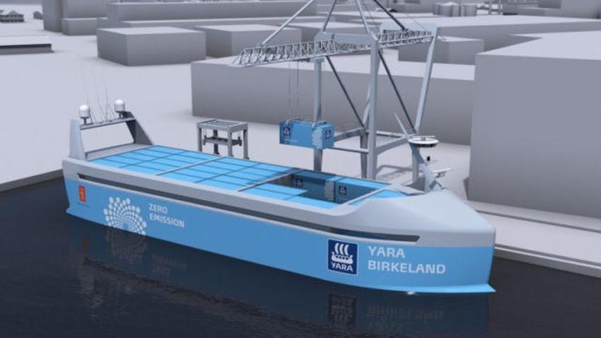 statek elektryczny autonomiczny