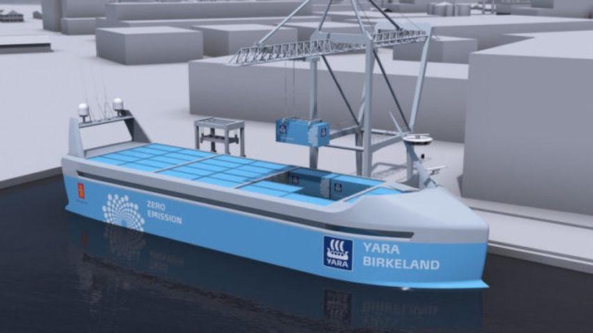 Photo of Pierwszy na świecie bezzałogowy statek towarowy powstaje w Norwegii