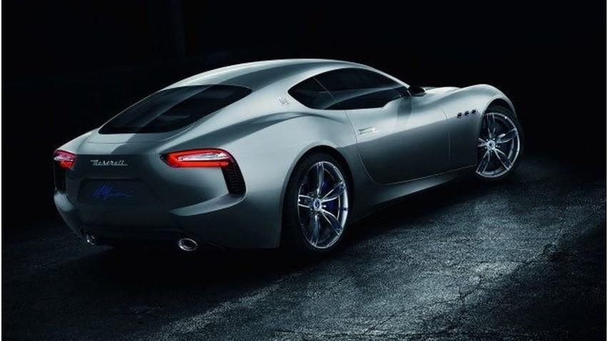 Samochód Maserati trochę elektryczny
