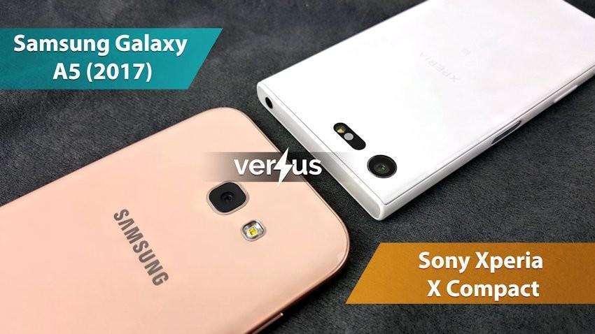 Samsung Galaxy A5 (2017) vs Sony Xperia X Compact