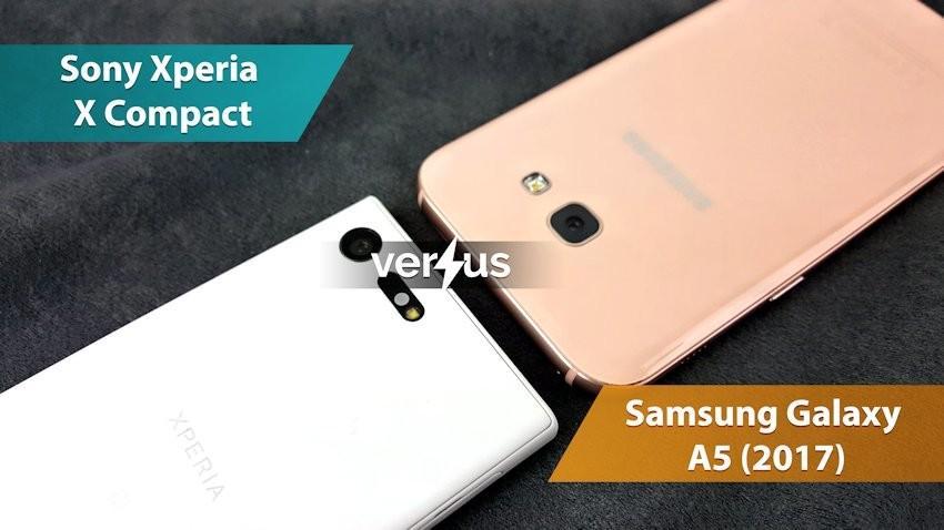 Sony Xperia X Compact vs Samsung Galaxy A5 (2017)