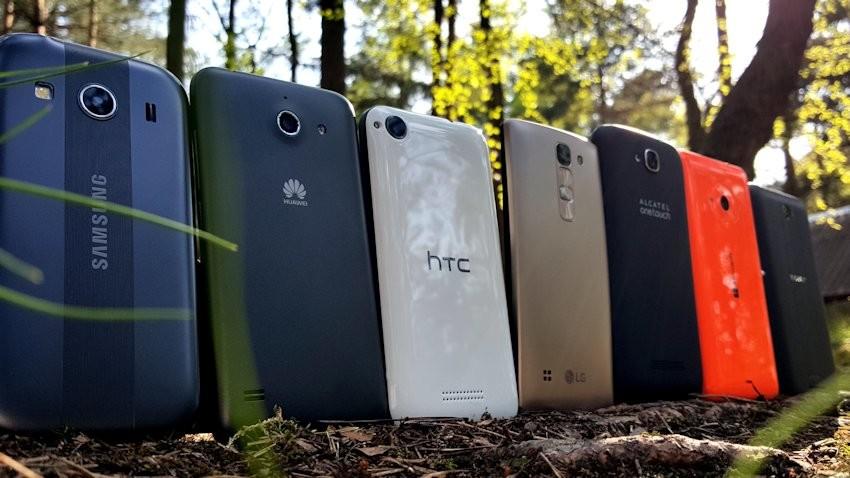 Wyniki Fototestu Budżetowe telefony (Pop C7, Desire 320, Ascend Y550, Spirit 4G LTE. Lumia 535, Galaxy Ace 4, Xperia E4)