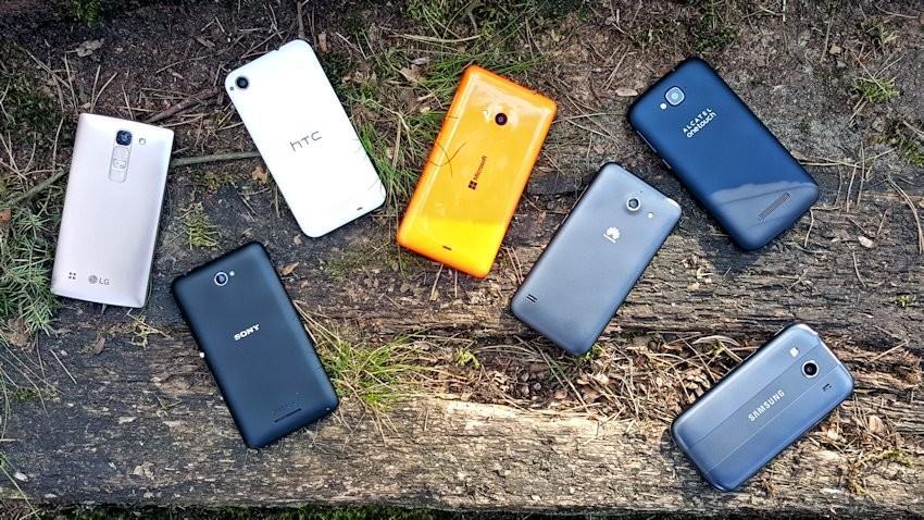 Wyniki Fototestu selfie Budżetowe telefony (Pop C7, Desire 320, Ascend Y550, Spirit 4G LTE, Lumia 535, Galaxy Ace 4, Xperia E4)