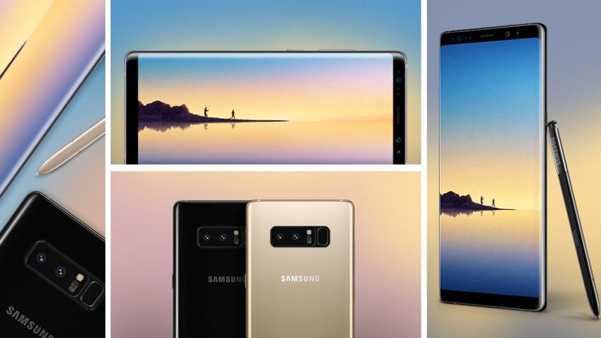 Photo of Samsung wprowadza do sprzedaży w naszym kraju niebieskiego Galaxy Note'a 8