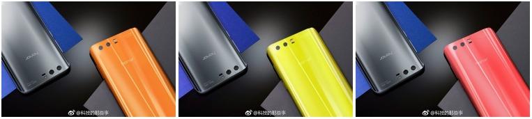 rendery-huawei-honor-9-1 Huawei Honor 9 – nowy render pokazuje telefon w trzech różnych kolorach