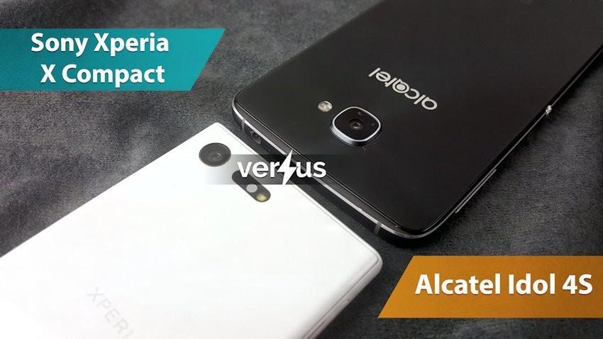Sony Xperia X Compact vs Alcatel Idol 4S