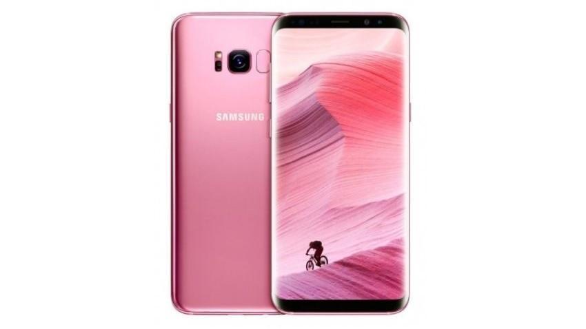 galaxy s8 róż pink