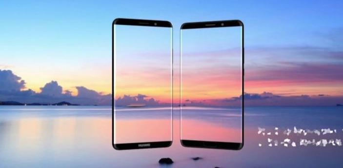 mate-10 Huawei Mate 10 i Mate 10 Pro pozują na pierwszych renderach