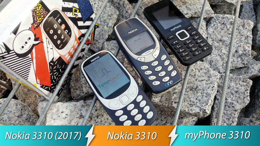 Photo of Starcie: Legendarny numer 3310 – Nokia 3310, Nokia 3310 (2017), myPhone 3310