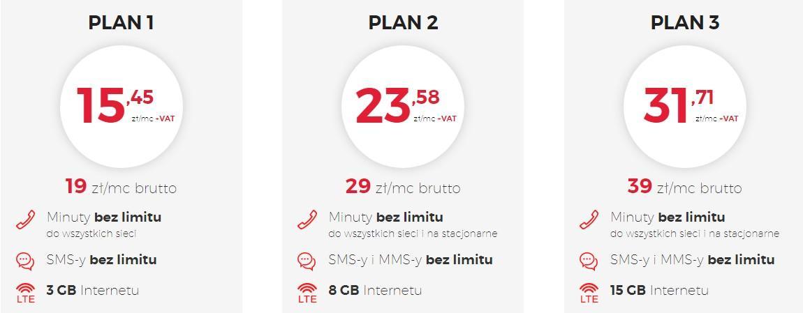 virginmobile-plany Virgin Mobile: Abonament dla firm ze zniżką 50% na kolejne numery