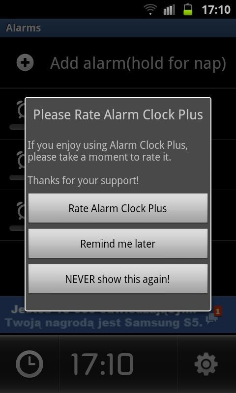 jeszcze-tylko-5-minut...-1 Recenzja: Alarm Clock Plus