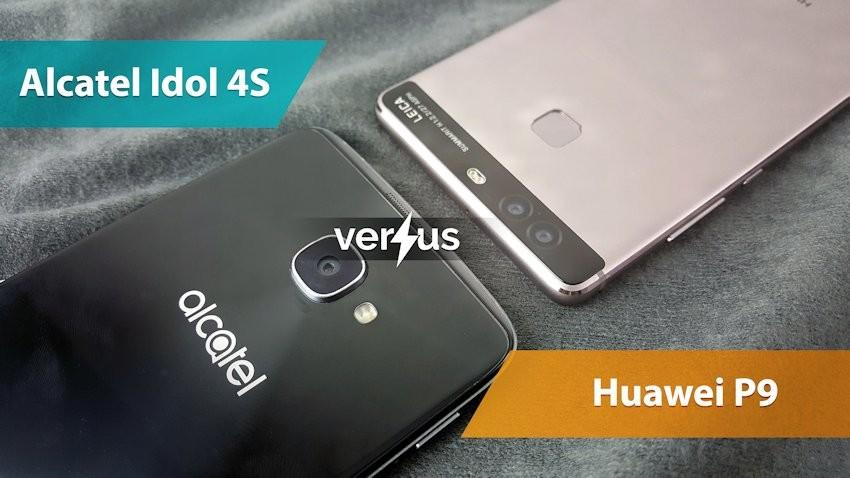 Alcatel Idol 4S vs Huawei P9