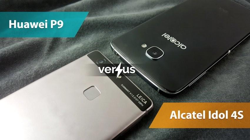 Huawei P9 vs Alcatel Idol 4S