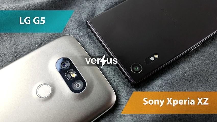 LG G5 vs Sony Xperia XZ