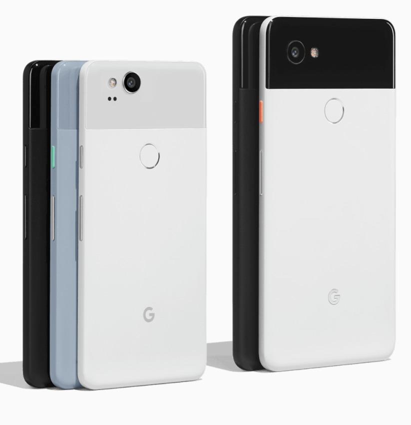 Pixel-2-and-2-XL-colors-1-823x850 Smarfony Google Pixel 2 oraz Google Pixel 2 XL oficjalnie zaprezentowane