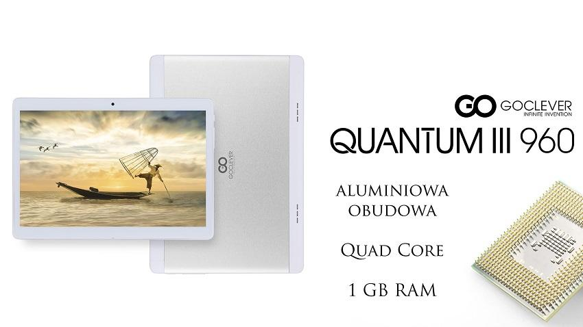 Photo of Quantum 3 960 Mobile to nowy tablet GoClevera z ekranem Samsunga
