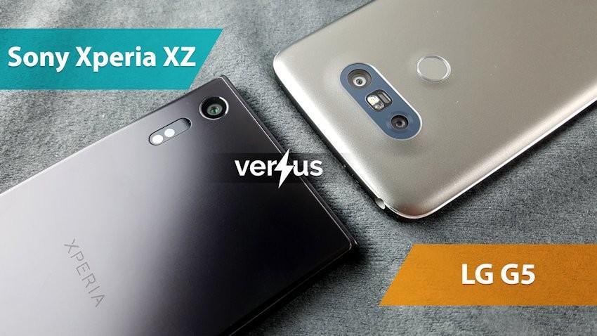 Sony Xperia XZ vs LG G5