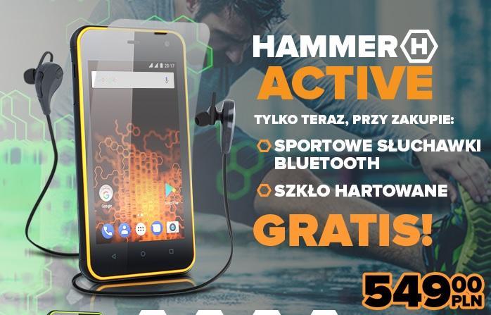 hammer-active mPTech przedstawia kolejny pancerny smartfon z serii Hammer – model Active