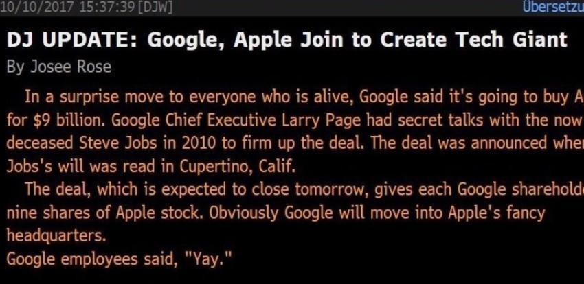sprzedaż-apple-850x414 Spokojnie, Google nie kupi Apple
