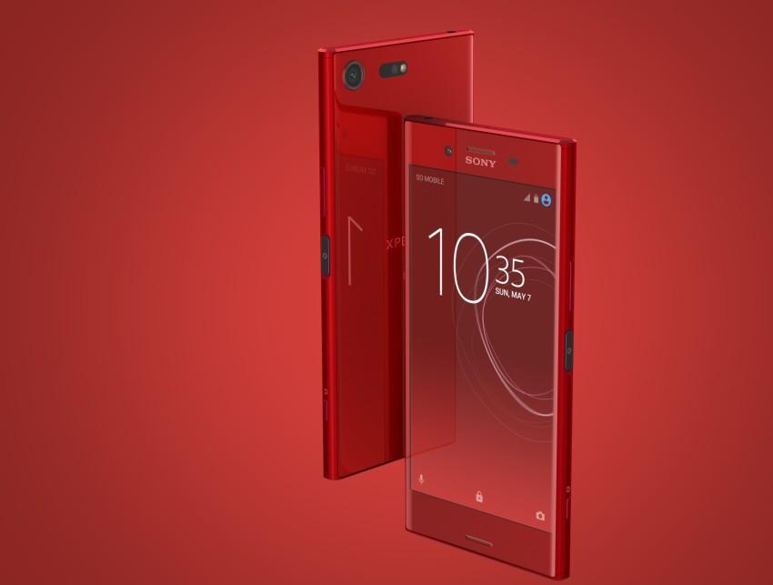 xperia-xz-czerwona-850x643 Już w listopadzie będziemy mogli kupić Sony Xperię XZ Premium w kolorze Rosso: Kultowa Czerwień