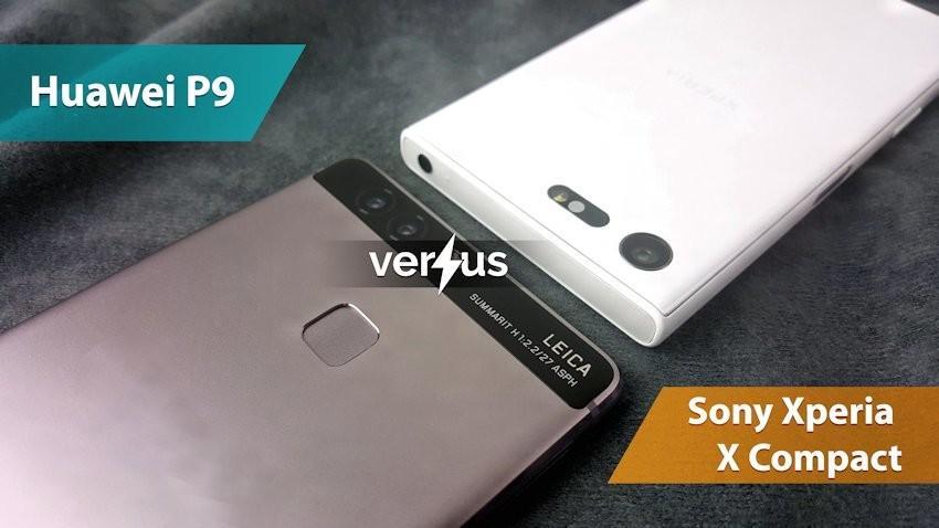 Huawei P9 vs Sony Xperia X Compact