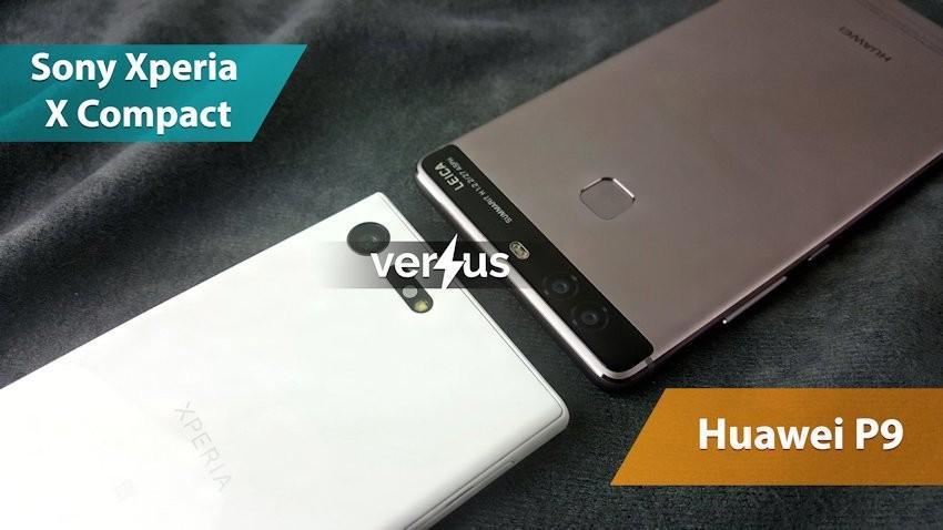 Sony Xperia X Compact vs Huawei P9