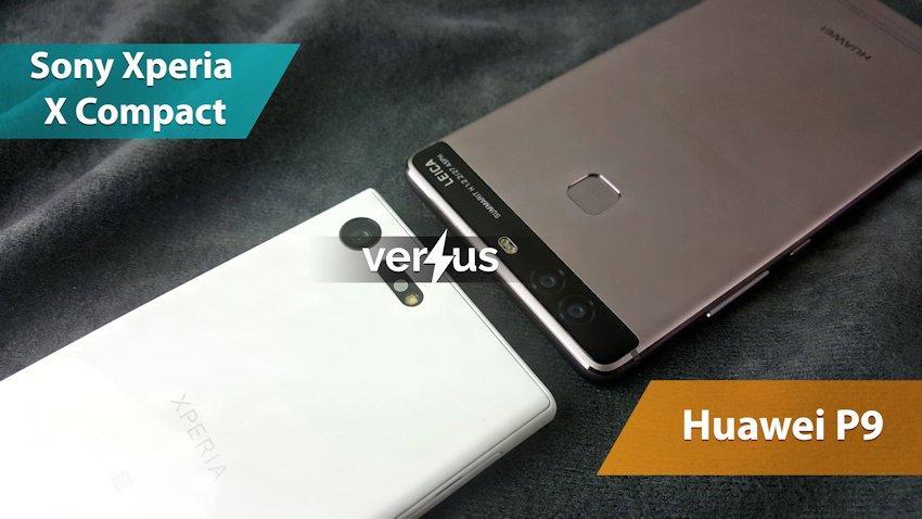 Photo of Pojedynek: 7 zalet Sony Xperia X Compact vs Huawei P9