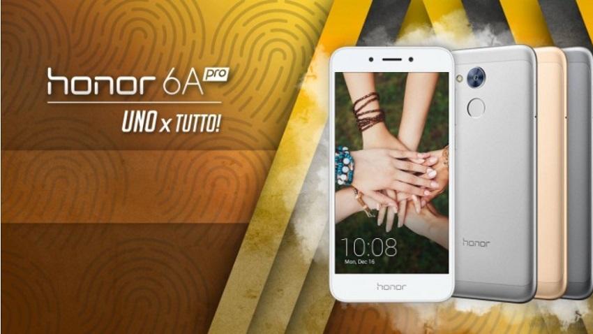 Photo of Honor 6A Pro zadebiutował w Europie