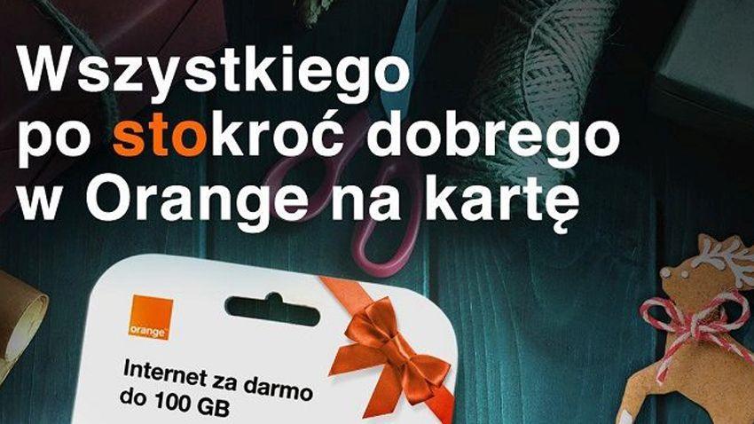 Photo of 100 zł na rozmowy w Orange na kartę