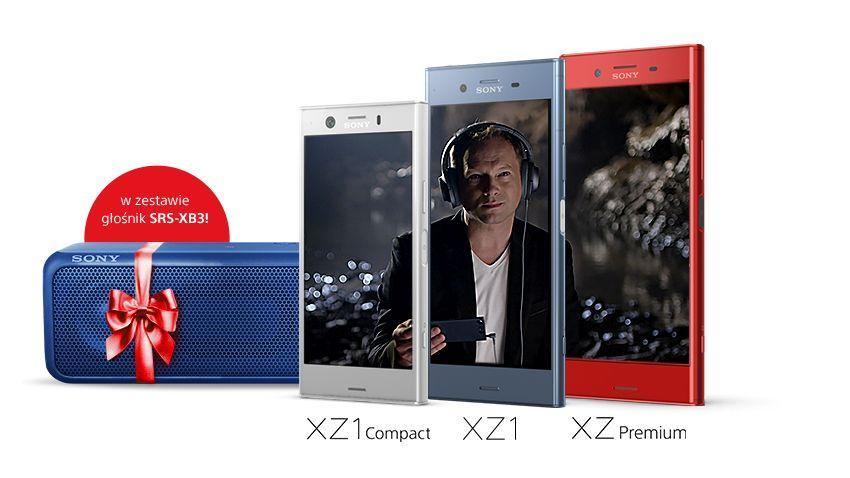 Photo of Smartfony Xperia z bezprzewodowym głośnikiem w prezencie