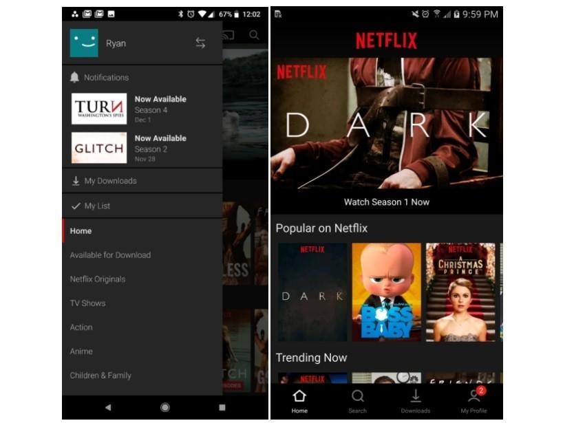 netflix-850x615 Netflix szykuje nową wersję aplikacji mobilnej na Androida